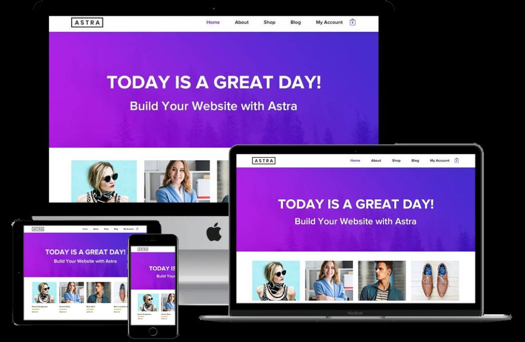 Astra WP Kişisel Web Site Paketi